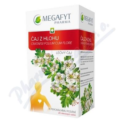 Megafyt Čaj z hlohu por.spc.20x1.5g