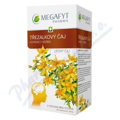 Megafyt Třezalkový čaj por.spc.20x1.5gm
