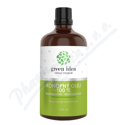 TOPVET - Regenerační konopný olej 100ml