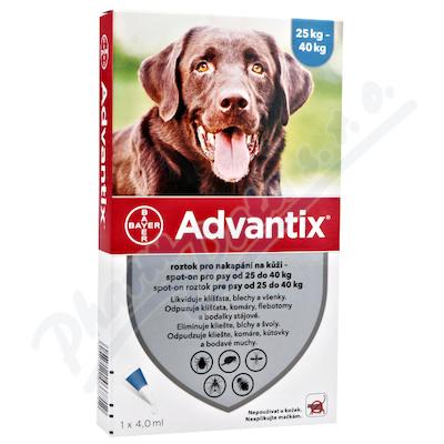 Advantix pro psy 25-40kg spot-on 1x4ml