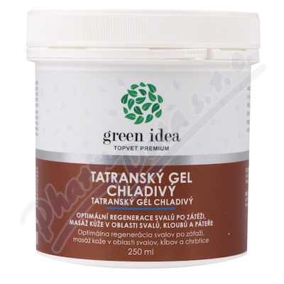 TOPVET Tatranský bylinný gel chladivý 250ml