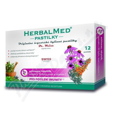 HerbalMed past. Dr.Weiss Echin+rakytník+vit.C 12
