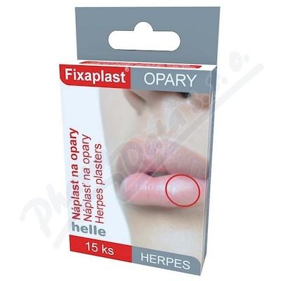 Náplast Fixaplast Herpes na opary 15ks