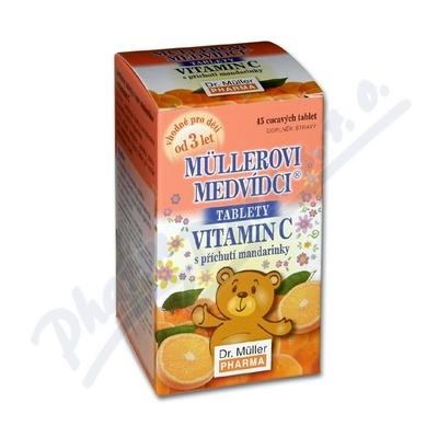 Müllerovi medvídci s vit.C s přích.mandarin.tbl.45