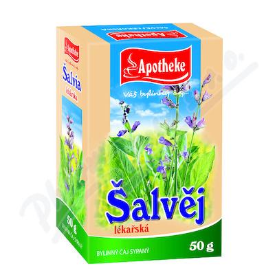 Apotheke Šalvěj lékařská - nať sypaný čaj 50g