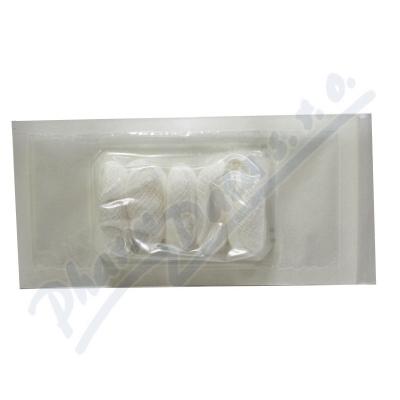 Tampón stáčený z gázy steril.15x15cm/5ks Steriwund