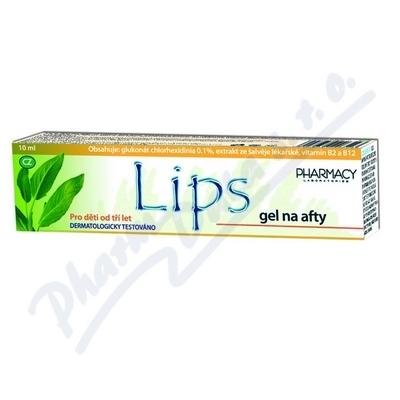 LIPS gel na afty 10ml