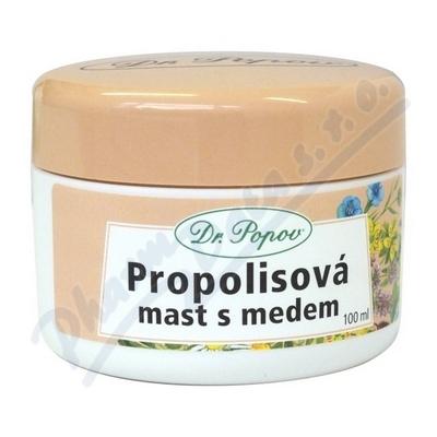 Dr.Popov Propolisová mast s medem 100ml