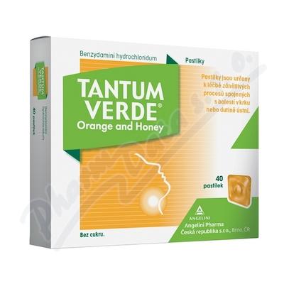 Tantum Verde Orange and Honey 3mg pas.40