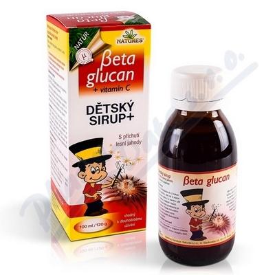 Beta Glucan Dětský sirup+ 100ml/120g