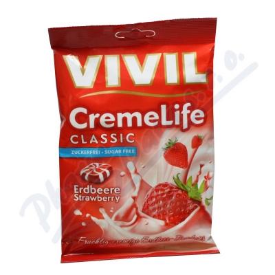 Vivil Creme life jahoda bez cukru 110g