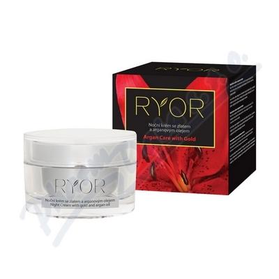 RYOR Argan care with Gold Noční krém 50ml