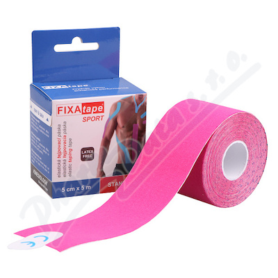FIXAtape Sport Standard tejp. páska 5cmx5m růžová