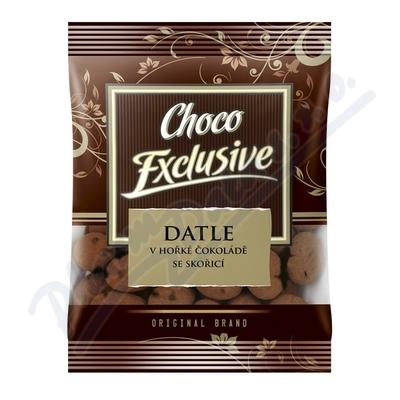 POEX Datle v hořké čokoládě se skořicí 150g