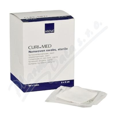 Curi-Med kompres steril.netk. 5x5cm 50x2ks