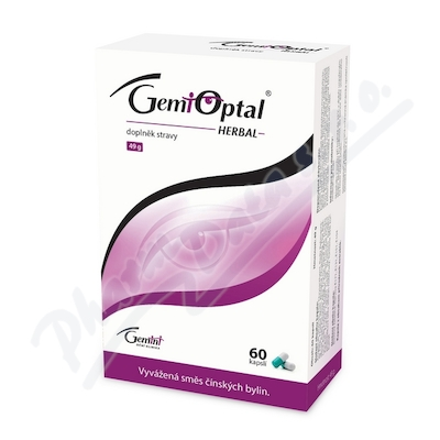Gemioptal HERBAL cps.60