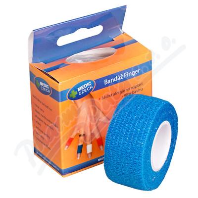 Rychlonáplast elastická 25mm x 450cm Modrá