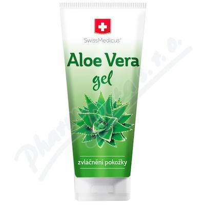 Aloe vera gel 200 ml SwissMedicus