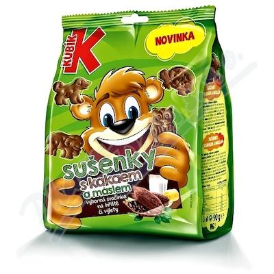 KUBÍK sušenky s kakaem a máslem 90g