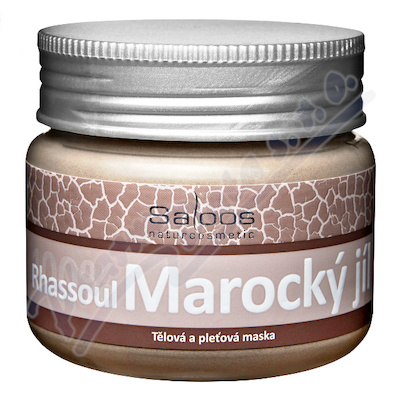 Saloos 100% Marocký jíl Rhassoul 150g