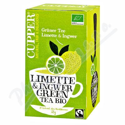 Cupper BIO Lime&Ginger Green Tea 20 n.s.