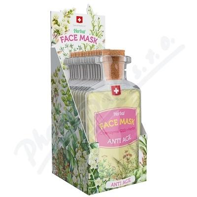 Herbal face mask AntiAge 17ml/24ks SwissMedicus