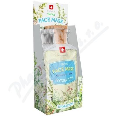 Herbal face mask Hydration 17ml/24ks SwissMedicus