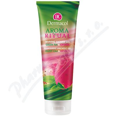Dermacol AR sprch.gel zelený čaj a opuncie 250ml
