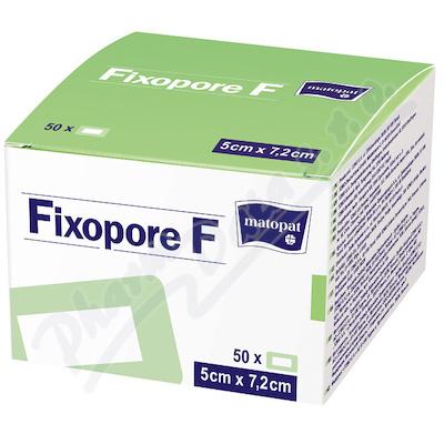 Fixopore F sterilní náplast 5x7.2cm 50ks