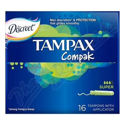 DH tampóny Tampax Compak Economy Super 16ks