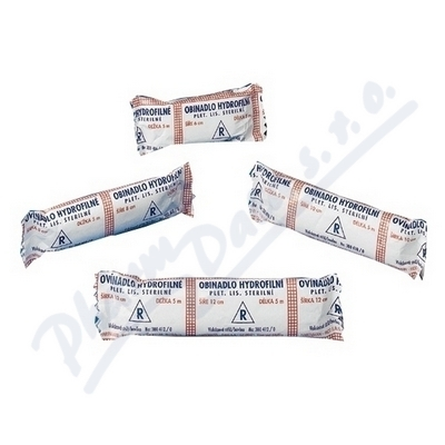 Obin. hydrofil.pletené sterilní 12cmx5m 3004120