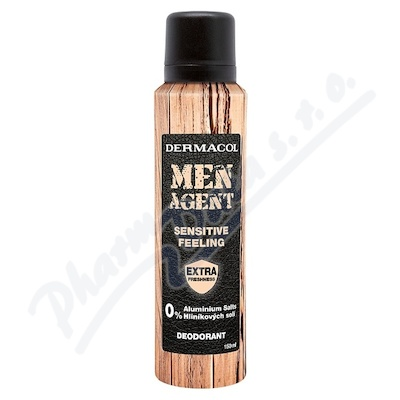 Dermacol Men Agent deo Sensitive feeling 150ml
