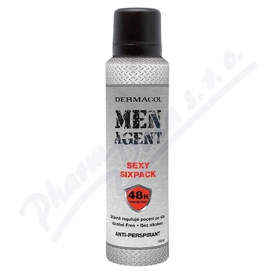 Dermacol Men Agent antipersp.Sexy sixpack 150ml