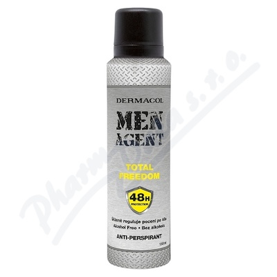 Dermacol Men Agent antipersp.Total freedom 150ml