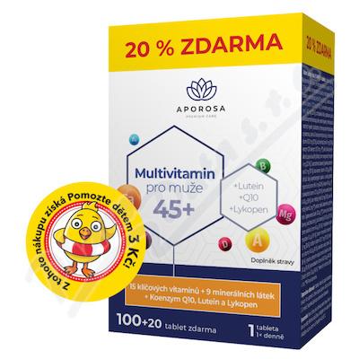 APOROSA Multivitamin pro muže 45+ tbl.100+20