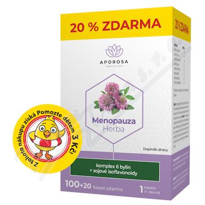 APOROSA Menopauza Herba cps.100+20