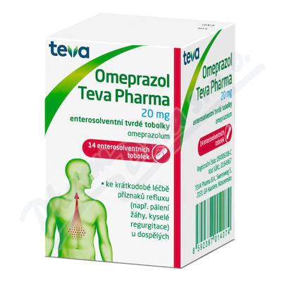 Omeprazol Teva Pharma 20mg por.cps.etd.14x20mg