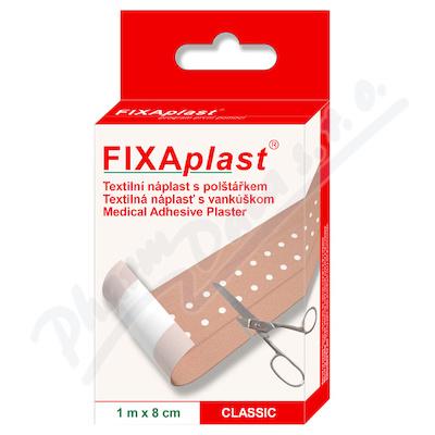 FIXAplast tex. náplast s polštářkem CLASSIC 1mx8cm