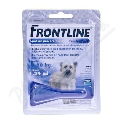 Frontline Spot On Dog M 1x1 pipeta 1.34ml