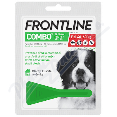 Frontline Combo Spot on Dog XL pipeta 1x4.02ml