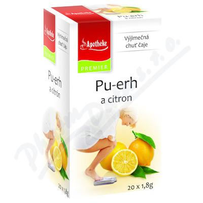 Apotheke Pu-erh a citron čaj n.s.20x1.8g