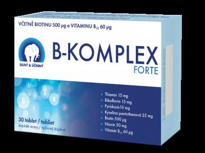 A PREMIUM B-KOMPLEX FORTE, 30 tablet