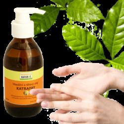Masážní a tělový olej KATRAFAY 200ml