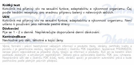 Grešík Kotvičník n.s. 20 x 1.0 g