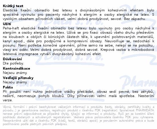 Obin. fixační kohes.PEHA-HAFT Latex free 12cmx4m