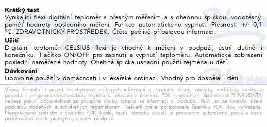 Teploměr Digital CELSIUS flexi
