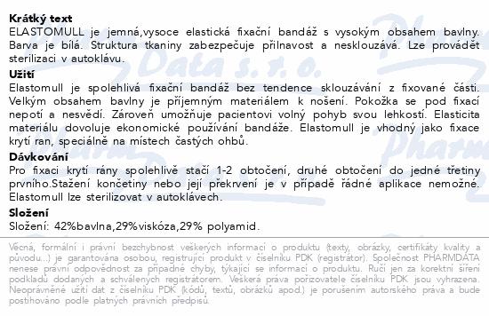 Elastomull obinadlo bílé kohezivní 10cmx4m 20ks