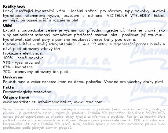 Lirene H&V Krém třešeň a citron DEN/NOC 50ml