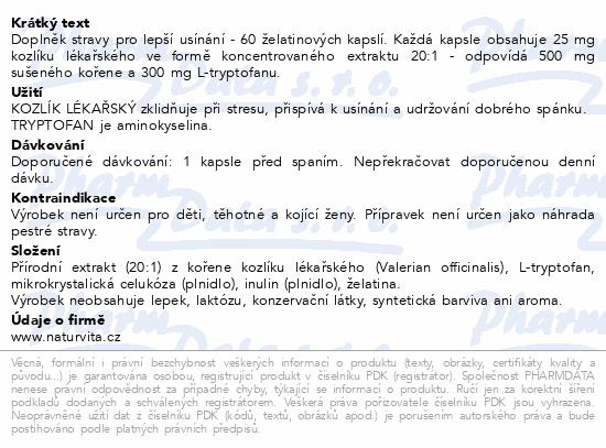 NATURVITA TRYPTOSEN kapslí 60