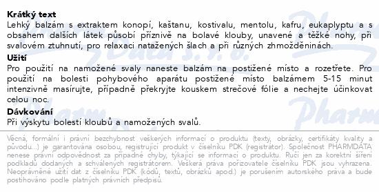 BIONE bylin.balzám Kostival/Kaštan koň.300ml